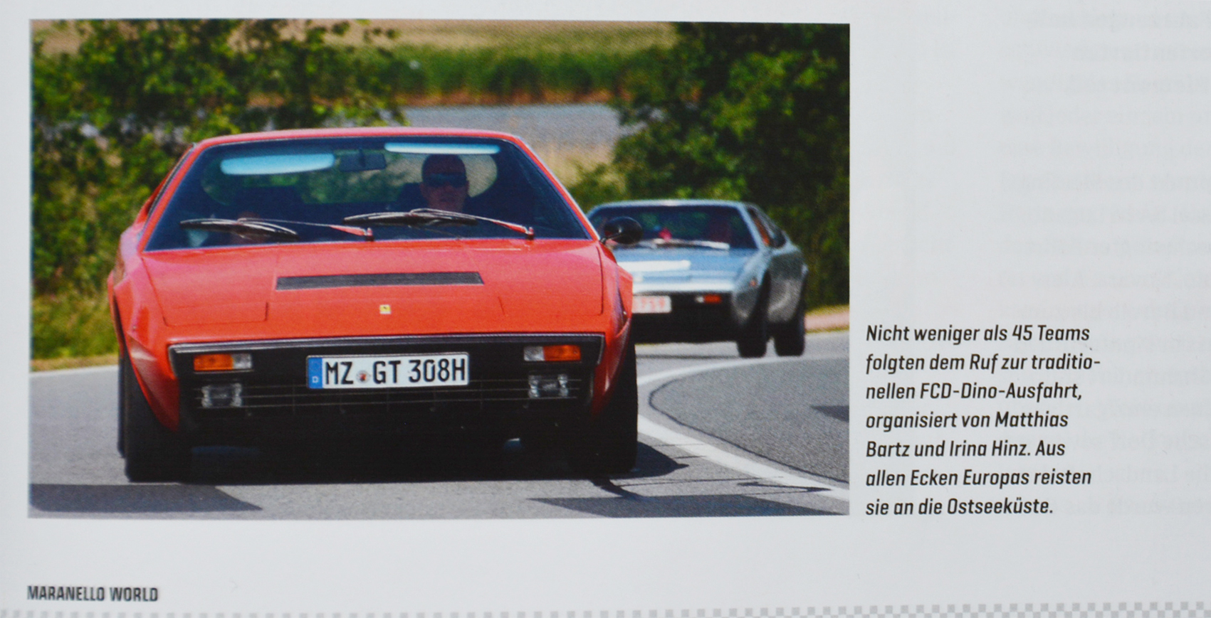 Artikel Maranello World_02